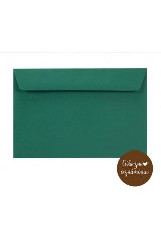 Farebná obálka C6 - 90 g - smaragdová