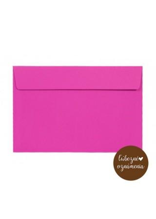 Farebná obálka C6 - 120 g - ružová