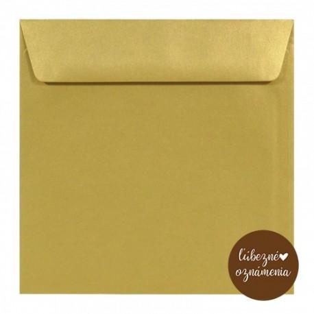 Perleťová obálka - 110 g - zlatá