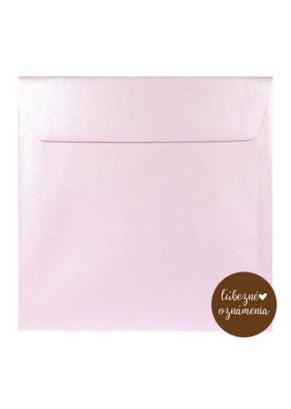 Perleťová obálka - 120 g - ružová