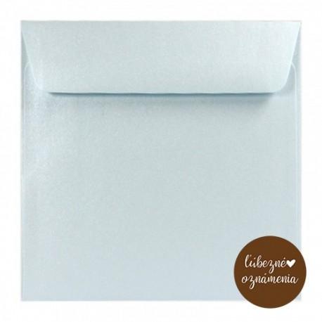Perleťová obálka - 120 g - modrá