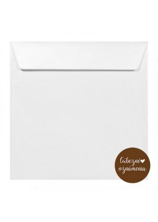 Perleťová obálka - 120 g - biela