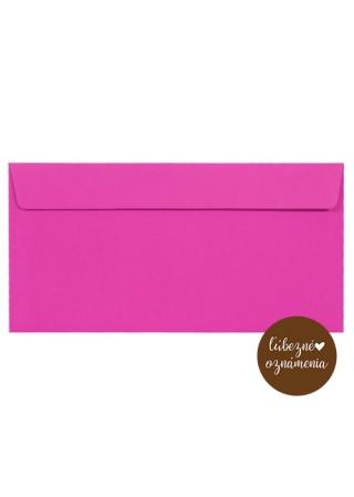 Farebná obálka DL - 120 g - ružová