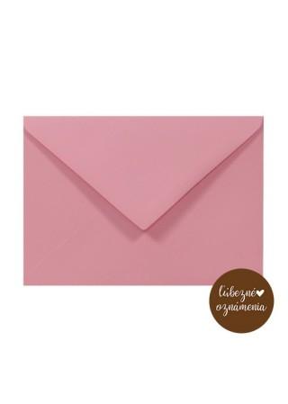 Farebná obálka C6 - 140 g - ružová