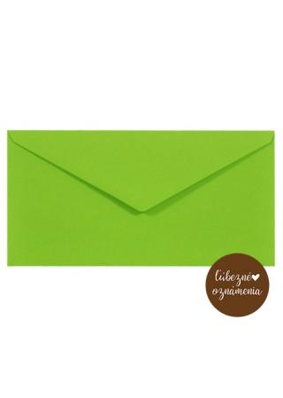 Farebná obálka DL - 115 g - zelená