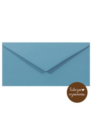 Farená obálka DL - 140 g - modrá