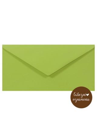Farená obálka DL - 140 g - zelená