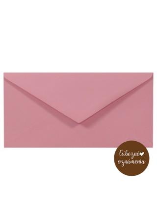 Farebná obálka DL - 140 g - ružová