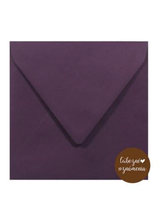 Štvorcová obálka - 115 g - fialová