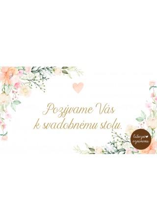 Pozvánka k stolu Romantická duša 02