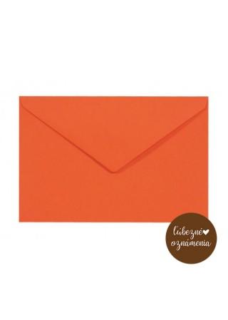 Farebná obálka C6 - 115 g - oranžová