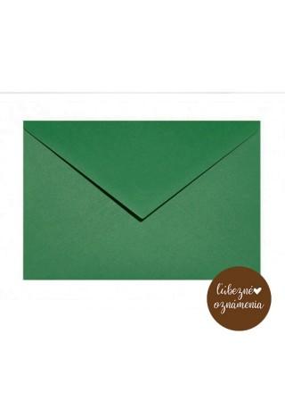Farebná obálka C6 - 115 g - zelená