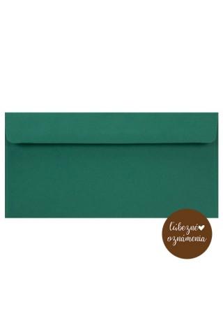 Farebná obálka DL - 90 g - smaragdová