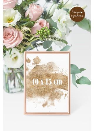 Číslo stola 10x15 cm