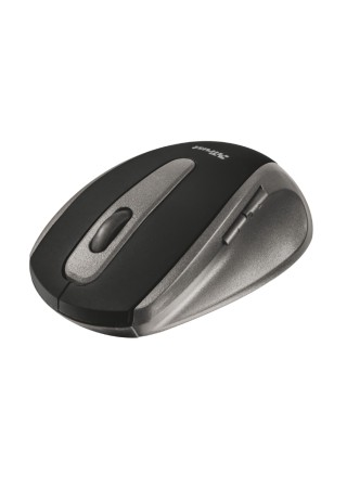 Trust EasyClick, bezdrôtová myš, čierna 16536